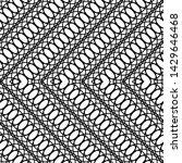 design seamless monochrome... | Shutterstock .eps vector #1429646468