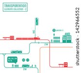 transportation infographics  ... | Shutterstock .eps vector #142966552