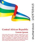 flag of the central african... | Shutterstock .eps vector #1429705415