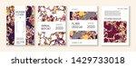 liquid oil paint minimal vector ... | Shutterstock .eps vector #1429733018