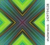 halftone ornament  psychedelic... | Shutterstock .eps vector #1429754138