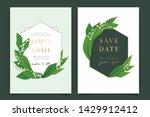 summer wedding invitation...   Shutterstock .eps vector #1429912412