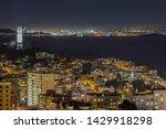 night view towards san... | Shutterstock . vector #1429918298