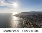 aerial view of afternoon sun... | Shutterstock . vector #1429949888