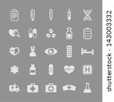 health and medicine icons | Shutterstock .eps vector #143003332