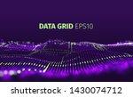 data grid vector abstract...   Shutterstock .eps vector #1430074712