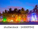 miami beach  florida  hotels... | Shutterstock . vector #143009542