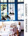 Modern Restaurant Interior With ...