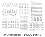 set of vector icons of the... | Shutterstock .eps vector #1430214542