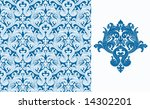 seamless background from a... | Shutterstock .eps vector #14302201