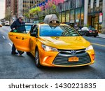 new york city  usa   april 2018 ...   Shutterstock . vector #1430221835