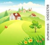 vector illustration of a... | Shutterstock .eps vector #143023708