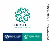 dental circle clinic teeth... | Shutterstock .eps vector #1430240582