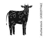 vector design of cow and calf... | Shutterstock .eps vector #1430297462