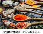 spices and seasonings for... | Shutterstock . vector #1430321618
