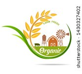 farm fresh of vector emblems... | Shutterstock .eps vector #1430327402
