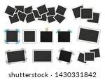 photo frames pack. square... | Shutterstock .eps vector #1430331842