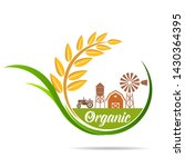 farm fresh of vector emblems... | Shutterstock .eps vector #1430364395