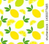 seamless pattern with...   Shutterstock .eps vector #1430377685