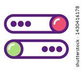 button icon illustration... | Shutterstock .eps vector #1430416178