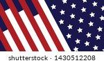 america flag celebration... | Shutterstock .eps vector #1430512208