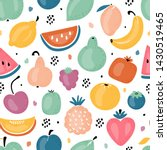 colorful vector seamless... | Shutterstock .eps vector #1430519465