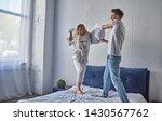 happy young couple is having...   Shutterstock . vector #1430567762