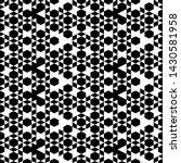 hexagons  rhombuses  triangles  ... | Shutterstock .eps vector #1430581958