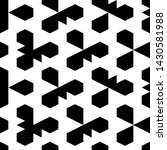 seamless pattern.ethnic motif.... | Shutterstock .eps vector #1430581988