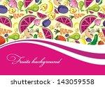 fruit   Shutterstock .eps vector #143059558