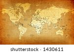 Detailed Old World Map