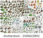 fantasy map elements... | Shutterstock .eps vector #1430622842