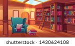 place for reading books  home... | Shutterstock .eps vector #1430624108