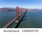 aerial view of the golden gate... | Shutterstock . vector #1430655755