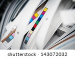 color reference bars of... | Shutterstock . vector #143072032