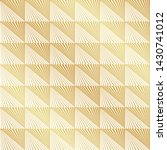 abstract seamless gold art deco ...   Shutterstock .eps vector #1430741012