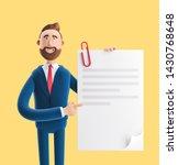 3d illustration on yellow...   Shutterstock . vector #1430768648