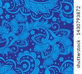 this classic indonesian batik...   Shutterstock .eps vector #1430793872