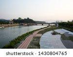 Yocheon Stream in Namwon-si, South Korea.