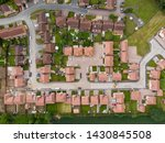 Aerial Photo Of The Uk Town Of...