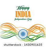 india independence day card... | Shutterstock .eps vector #1430901635