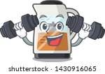 fitness tea maker isolated with ... | Shutterstock .eps vector #1430916065
