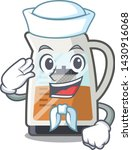 sailor tea maker isolated with... | Shutterstock .eps vector #1430916068
