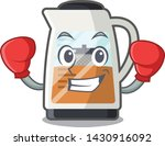 boxing tea maker isolated with... | Shutterstock .eps vector #1430916092