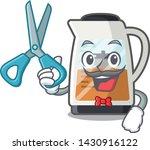 barber tea maker isolated with... | Shutterstock .eps vector #1430916122