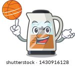 with basketball tea maker... | Shutterstock .eps vector #1430916128