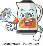 with megaphone tea maker... | Shutterstock .eps vector #1430918825