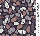 Sea Pebbles  Stones. Vector ...