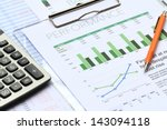 business investment report for... | Shutterstock . vector #143094118