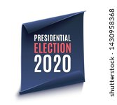 american presidential election... | Shutterstock . vector #1430958368